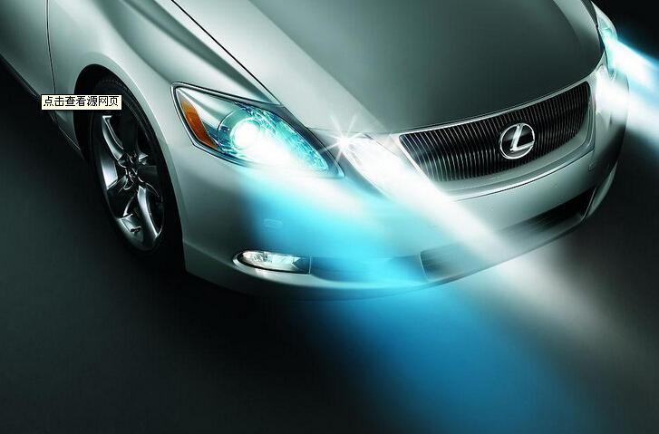 车灯照明简单电路图