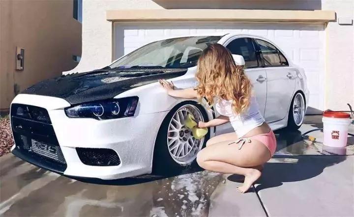 洗车的最高境界,你们真是一个比一个会过日子啊!